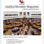 Monthly Library Science eMagazine July August 2018 Issue