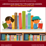 KVS Librarian Exam 2000+ Objective Type Question Answers