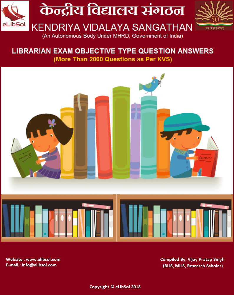 KVS Library Science Question Bank
